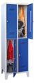 Schließfachschrank mit 4 Fächern, Abteilbreite 400 mm | günstig bestellen bei assistYourwork