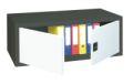 Aufsatzschrank 440x1000x400mm mit Flügeltüren | günstig bestellen bei assistYourwork