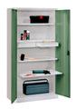 Werkzeugschrank 1950x1000x500mm, 2 Schubladen, 2 Auszug-, 2 Fachböden | günstig bestellen bei assistYourwork