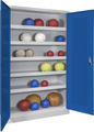 Ballschrank 1950x1500x500mm, mit 5 Ballböden | günstig bestellen bei assistYourwork