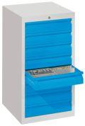 Schubladenschrank 900x500x500mm 8 x 100mm Schublade, á 15kg | günstig bestellen bei assistYourwork