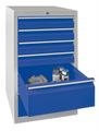 Schubladenschrank 900x500x500mm 4x100mm, 2x200mm Schubladen, á 30kg | günstig bestellen bei assistYourwork