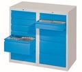 Schubladenschrank 900x1000x500mm 8x100mm, 4x200mm Schubladen, á 30kg | günstig bestellen bei assistYourwork