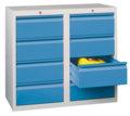 PAVOY Schubladenschrank 900x1000x500mm 8x200mm Schubladen, á 30kg | günstig bestellen bei assistYourwork