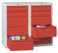 Schubladenschrank 900x1000x500mm 4x100mm, 6x200mm Schubladen, á 15kg | günstig bestellen bei assistYourwork