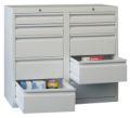 Schubladenschrank 900x1000x500mm 4x100mm, 6x200mm Schubladen, á 30kg | günstig bestellen bei assistYourwork