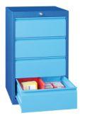 Schubladenschrank 800x500x600mm 4x175mm Schubladen, á 50kg | günstig bestellen bei assistYourwork