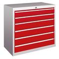 Schubladenschrank 800x715x600mm 2x100mm, 4x125mm Schubladen, á 50kg | günstig bestellen bei assistYourwork