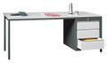 Werktisch 1700x800x720mm, rechts Schubladenblock 1x150, 2x175 mm | günstig bestellen bei assistYourwork