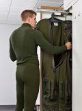 MILO Garderobenschrank Typ A 2050x400x550mm, mit Lüftereinheit | günstig bestellen bei assistYourwork