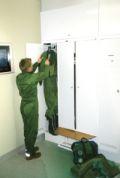 MILO Garderobenschrank- Kombination 2580x1200x550mm, mit Lüftereinheit | günstig bestellen bei assistYourwork