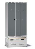 Einsatzschrank Pro G100 mit Auszug 2100x1000x550mm, 3 Abteile | günstig bestellen bei assistYourwork