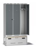 Einsatzschrank Pro H120 mit Auszug 2100x1200x550mm, 3 Abteile | günstig bestellen bei assistYourwork
