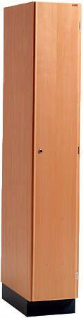 Holz- Garderobenschrank 300mm breit 1800x300x550mm | günstig bestellen bei assistYourwork