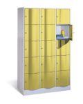 Fächerschrank Resisto mit 3x5 Fächern 1950x1150x540mm | günstig bestellen bei assistYourwork