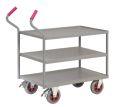 Ergotruck-Tischwagen 900x600mm mit 3 Etagen, 400kg Tragkraft | günstig bestellen bei assistYourwork