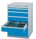 Schubladenschrank 700-1131A 1x50,1x100,3x150,1x300mm á 100kg | günstig bestellen bei assistYourwork