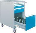 CNC-Werkzeugwagen T736 R 18-24 mobil, 02.2580.4RVB, 555x736x971mm, 4 Schubladen | günstig bestellen bei assistYourwork