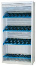 CNC-Magazin Hochschrank 02.289.00A mit Aluminiumrollladen, 4 Etagen | günstig bestellen bei assistYourwork
