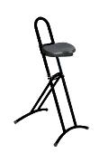 klappbare Stehhilfe lex mit PU- Sitzfläche, Rundrohrgestell | günstig bestellen bei assistYourwork