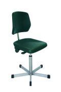 Edelstahl - Arbeitsstuhl 480-670mm mit Gleitern | günstig bestellen bei assistYourwork