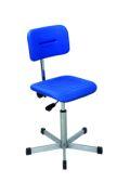 Edelstahl - Arbeitsstuhl 420-620mm mit Gleitern | günstig bestellen bei assistYourwork