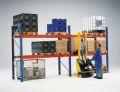 Palettenregal-Set 2730x10800x1100mm, 4 Felder, 2000kg Traglast je Trägerebene | günstig bestellen bei assistYourwork