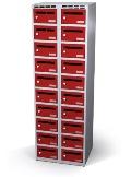 Postfächer-Schrank 1800x600x500 mm mit 20 Postfächern | günstig bestellen bei assistYourwork