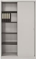 BISLEY Schiebetürenschrank ECO SD412194S HxBxT: 1980 x 1200 x 430 mm | günstig bestellen bei assistYourwork