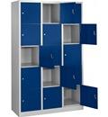 Schließfachschrank 15 Fächer HxBxT: 1900x1200x450 mm | günstig bestellen bei assistYourwork