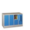 PAVOY Fächerschrank mit 4 x 2 Fächern  á 300 mm Abteilbreite, 855mm hoch | günstig bestellen bei assistYourwork