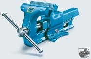 HEUER Schraubstock 100100 Backenbreite 100 mm | günstig bestellen bei assistYourwork