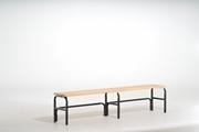 Sitzbank 131551 1500mm, einseitig ohne Rückenlehne | günstig bestellen bei assistYourwork