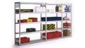 Universalregal BERT 3000x875x300mm Grundfeld mit 7 Spanplattenböden | günstig bestellen bei assistYourwork