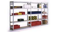 Universalregal BERT 2000x875x400mm Grundfeld mit 5 Spanplattenböden | günstig bestellen bei assistYourwork