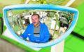 Rückspiegel VUMAX410, 288x68x151mm, am Vorderen Teil d. Staplers | günstig bestellen bei assistYourwork