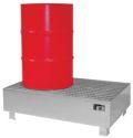 Auffangwanne WM-2-200 verzinkt 1200x800x360mm, mit Gitterrost, 215l | günstig bestellen bei assistYourwork