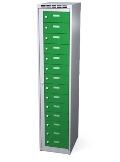 Wäschesammelschrank 14 Fächer, HxBxT: 1800x400x500 mm | günstig bestellen bei assistYourwork