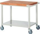 Werkbank fahrbar mit Ablageboden HxBxT: 880 x 1000 x 700 mm | günstig bestellen bei assistYourwork