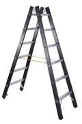 ZARGES beidseitige Stehleiter 41189 Schwerlastleiter Z600 SL 2x4 Sprossen | günstig bestellen bei assistYourwork