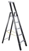 ZARGES Stehleiter 41145, 3 Sprossen Schwerlastleiter Z600 SL | günstig bestellen bei assistYourwork