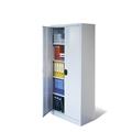 Universal-Stahl-Flügeltürenschrank 4 beschichtete Einlegeböden, AKTIONSANGEBOT | günstig bestellen bei assistYourwork