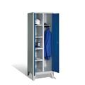 Wäsche- und Garderobenschrank auf Füßen, 2 Abteile, EXPRESS-Lieferung | günstig bestellen bei assistYourwork