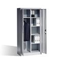 Büroschrank mit Garderobenabteil HxBxT 1950 x 930 x 500 mm, EXPRESS-LIEFERUNG   günstig bestellen bei assistYourwork