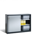 Beistellschrank mit Stahl-Schiebetüren HxBxT 720 x 800 x 400 mm,  | günstig bestellen bei assistYourwork