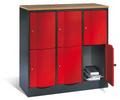 Resisto Schließfachschrank 8472-372 3x2 Fächer, HxBxT 1077x1150x540mm | günstig bestellen bei assistYourwork