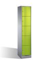 Resisto Schließfachschrank 8570-172 5 Fächer, HxBxT 1950x396x540mm | günstig bestellen bei assistYourwork