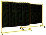 Schweisstrennwand  HxBxT: 2000 x 2000 600 mm | günstig bestellen bei assistYourwork