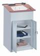 Werkstattpult 1200x700x600mm, mit Unterschrank | günstig bestellen bei assistYourwork