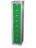 Wäscheausgabeschrank 8 Fächer, HxBxT: 1800x400x500 mm | günstig bestellen bei assistYourwork